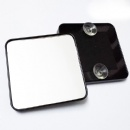 90mm square magnifying suction cup mirror
