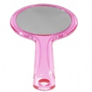 new sryle double sided round handle makeup mirror