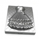 dress design double side foldable square pocket  mirror