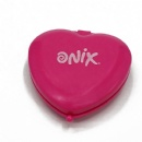 popular heart-shaped plastic pocket mirror