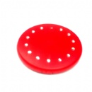 popular round double sided plastic pocket mirror with rhinestone