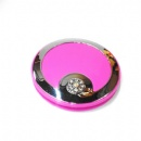 foldable round double sided pocket mirror